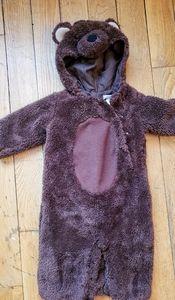Pottery Barn bear costume